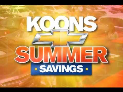Koons Chevrolet Of White Marsh   July Savings!