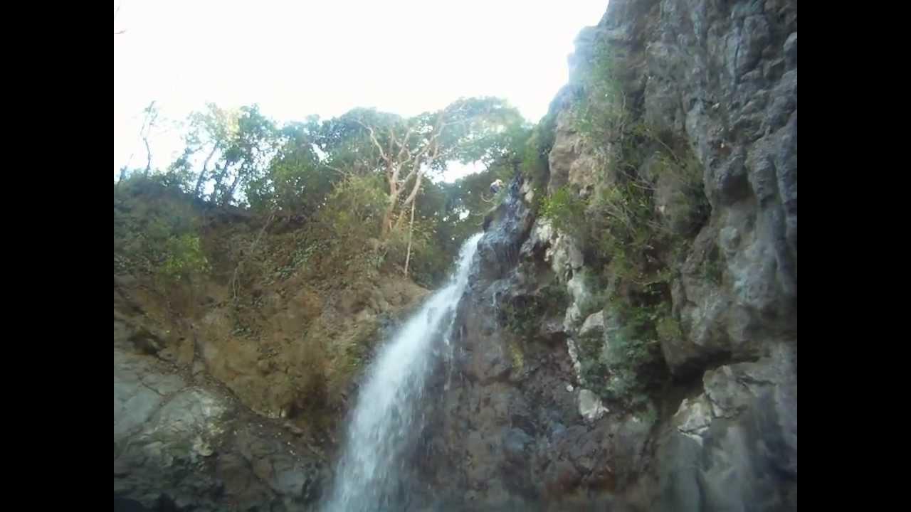 Swimming At The Belen Waterfall Samara A Rica