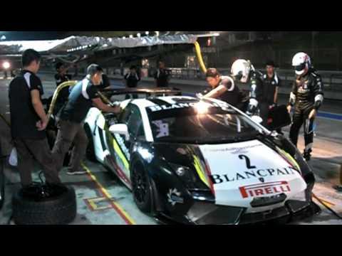 Christopher Haase & Peter Kox pit stop practice