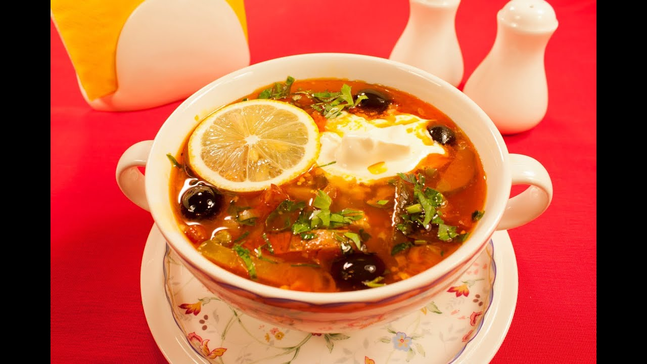 самый вкусный рецепт 1 блюда солянка