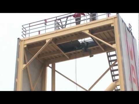 U.S. Marine Corps Recruit Training - Rappel Tower