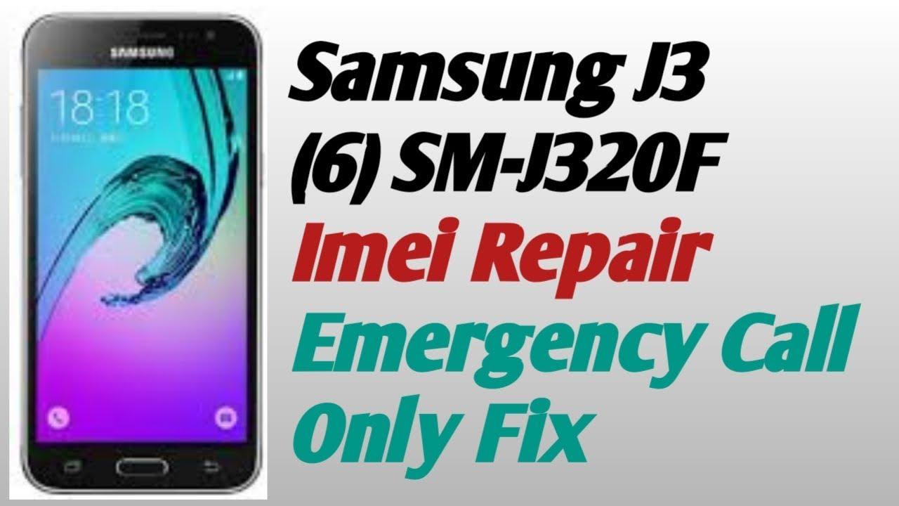 SAMSUNG J3 2016 SM-J320F IMEI REPAIR DONE 100% TESTED