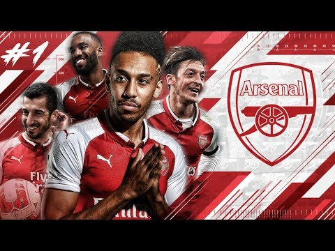 FIFA 18 ARSENAL CAREER MODE #1 - 80.000.000 SIGNING! AUBAMEYANG & MKHITARYAN DEBUT!