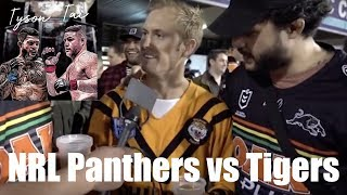HALFCAST PODCAST - At The Field: Panthers vs Tigers NRL match