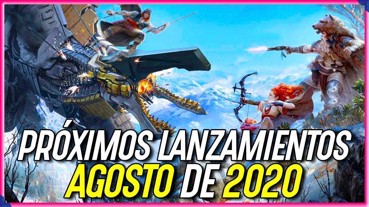Los JUEGOS más ESPERADOS de AGOSTO 2020 | PS4, PC y Xbox One