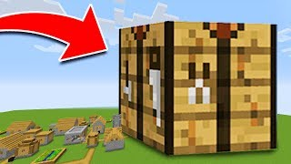 WORLD'S BIGGEST Working CRAFTING TABLE in Minecraft! (WORLD RECORD!)