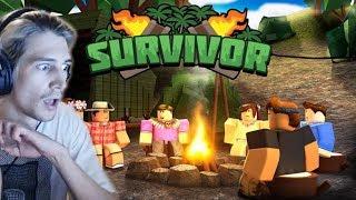 xQc Plays Roblox Survivor!