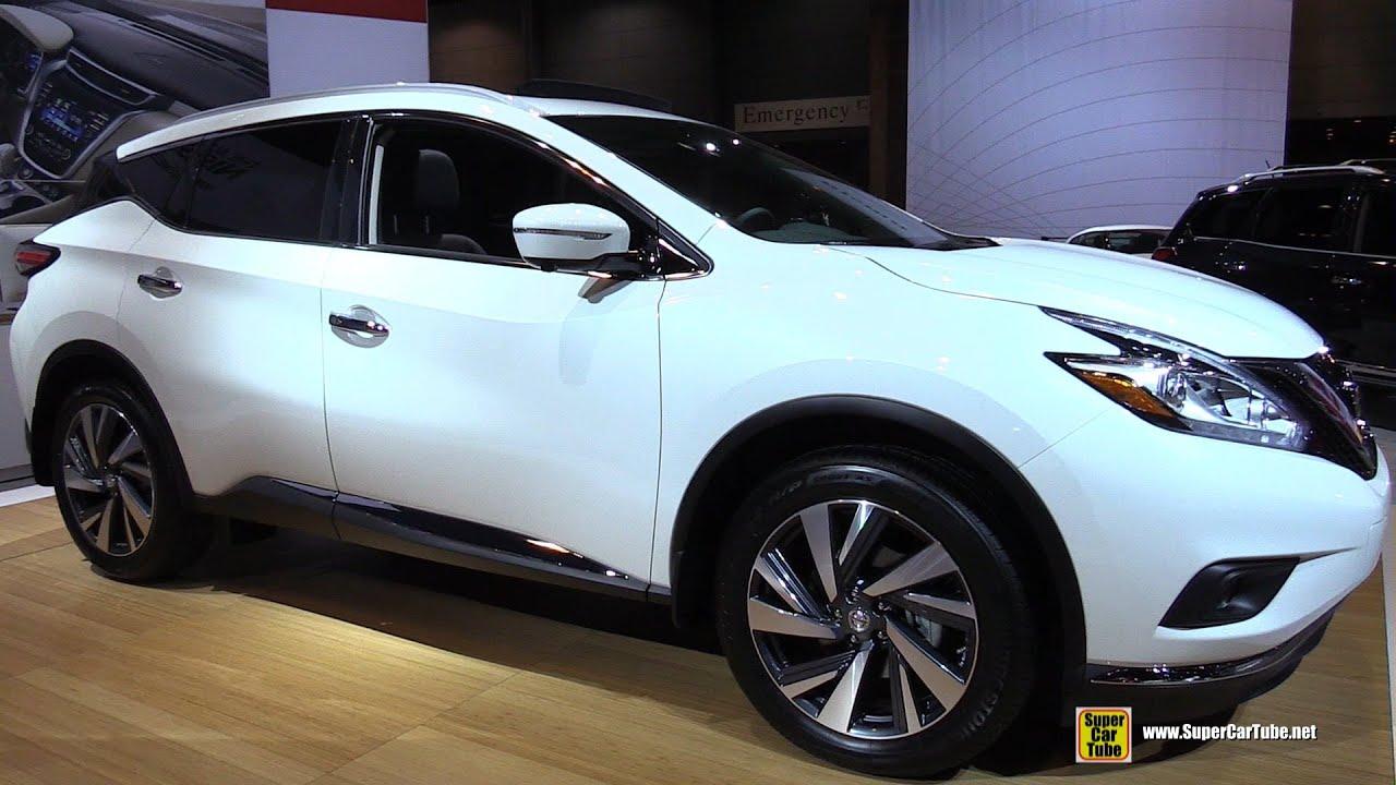 2015 Nissan Murano Platinum AWD   Exterior And Interior Walkaround   2015  Chicago Auto Show   YouTube