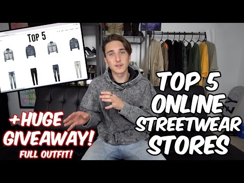 TOP 5 ONLINE STREETWEAR STORES TO SHOP AT