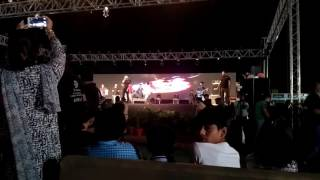 Raftaar Rap Show.  A High voltage performance at TIT Group of institutions Bhopal
