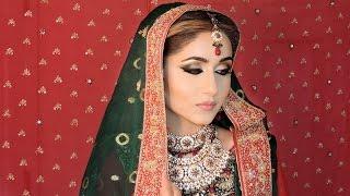asian indian pakistani bridal makeup tutorial