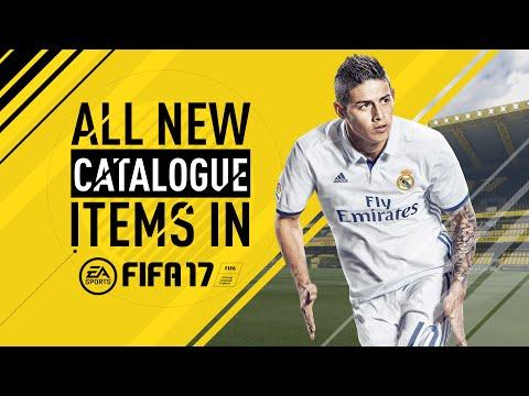 FIFA 17 | ALL NEW CATALOGUE ITEMS!