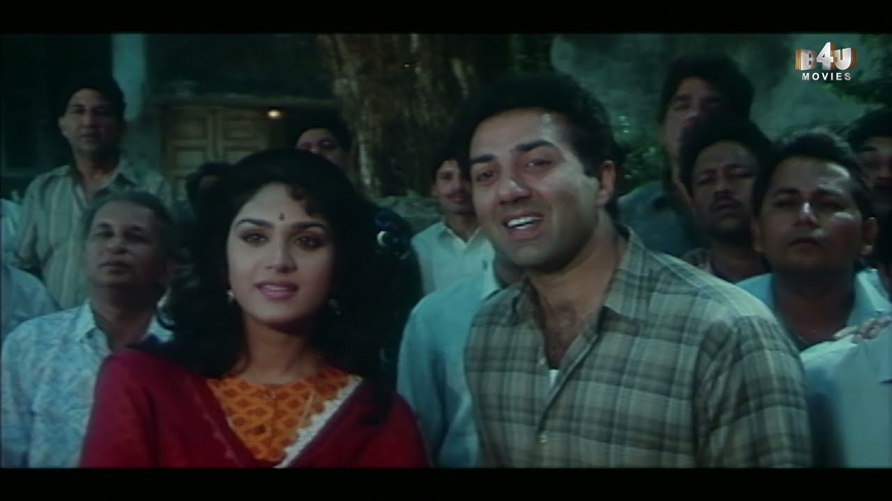 Sunny Deol and Amrish Puri's Funny Scene | Ghatak | Meenakshi Seshadri, Danny Denzongpa, Amrish Puri