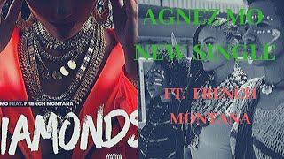 Agnez Mo - Diamonds ft. french montana lyrics (unofficial)