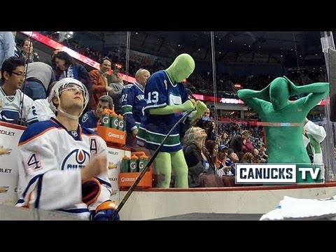 Green Men give it to Jordan Eberle
