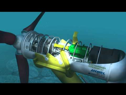 Tidal Energy Simulation - ScottishPower