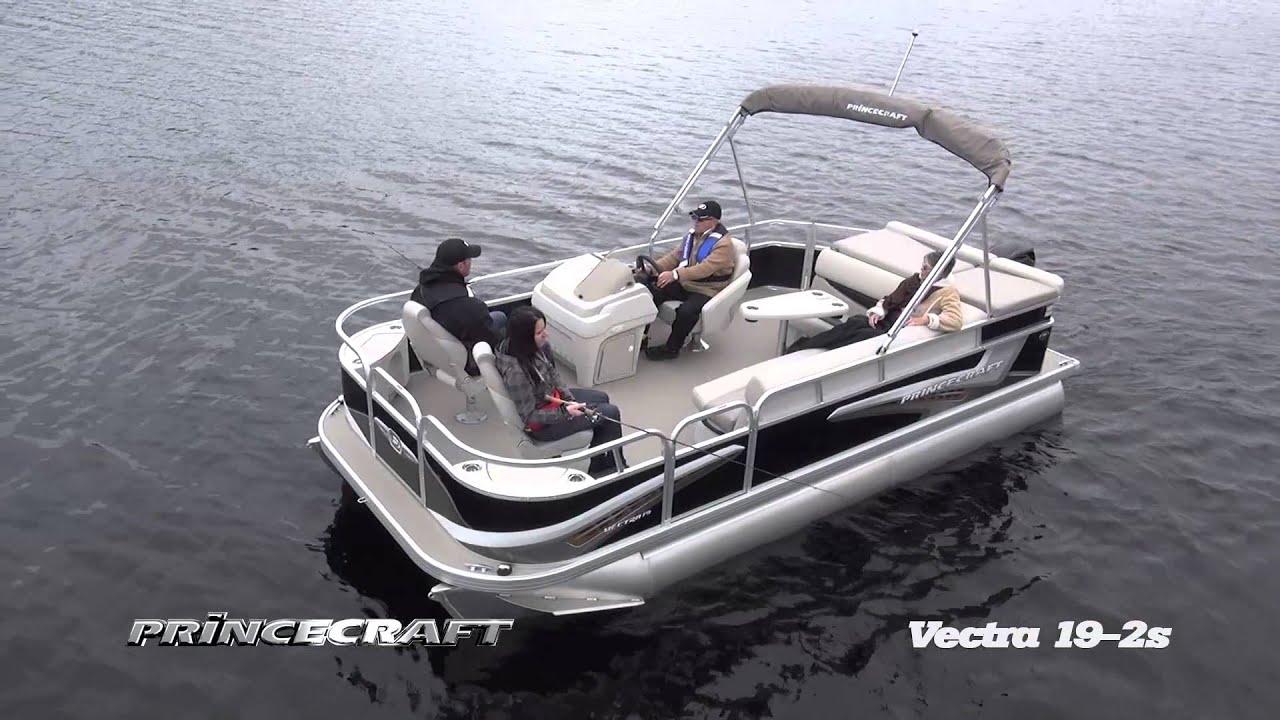 Princecraft Vectra 19 2s 2014 Ponton De P 234 Che Fishing