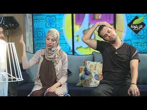 Yoga en Tunisie avec les coachs Hatem et Maha (yoga sur chaise)