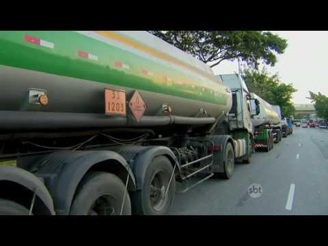 SBT Brasil (13/06/16) Polícia desmantela quadrilha que roubava três caminhões-tanque por semana