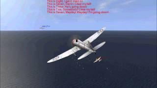 F2A & P-26 vs Ki-27 (Peashooter vs Nate)