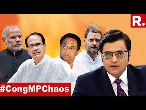 Karnataka Slippery, Is Congress Loosing Two States? | The Debate With Arnab Goswami