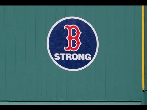 Boston Red Sox -- Boston Marathon Tribute 4/20/13