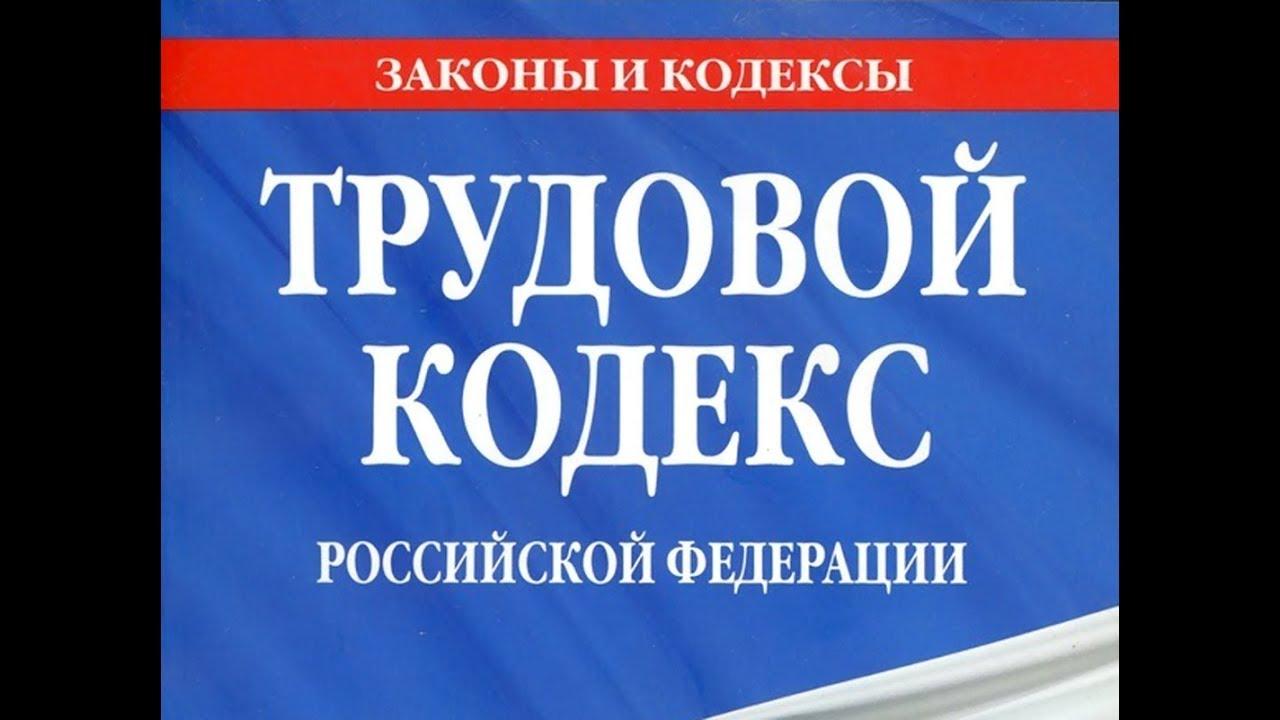 Трудовой кодекс российской федерации статья186