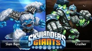 SKYLANDERS GIANTS - Slam Bam VS. Crusher (VERSUS)