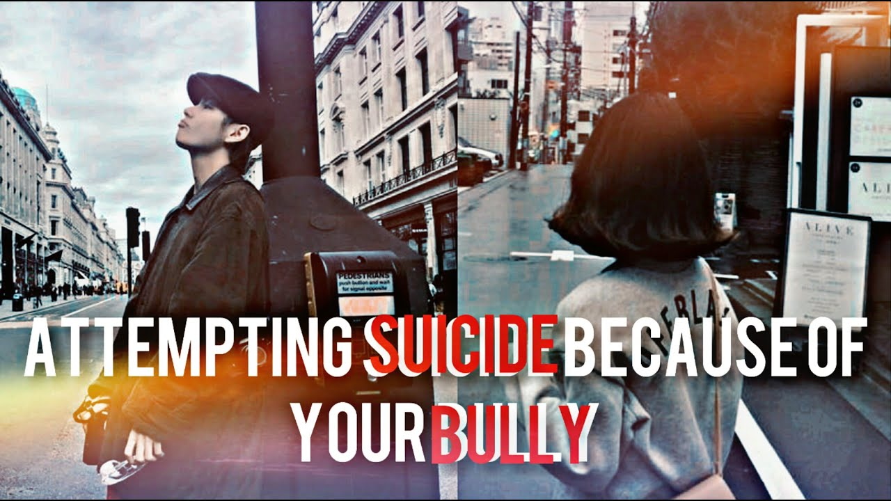 Download Taehyung Oneshot ||• Attempting suicide because of your Bully•||