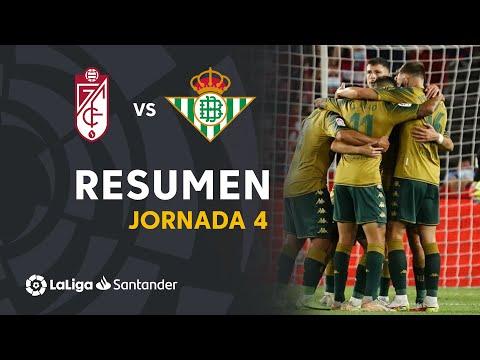 Granada Betis Goals And Highlights