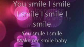 U Smile by Justin Bieber (with lyrics on screen)