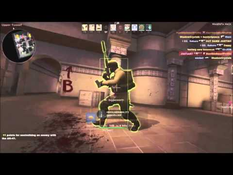 CSGO Private MAGENTA HACK DEATHMATCH HACKING PART 3
