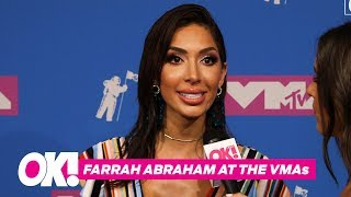 2018 MTV VMAs: Farrah Abraham & Sophia On The Pink Carpet