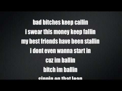 Chief Keef- Ballin with Lyrics