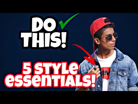 5 STYLE ESSENTIALS THAT YOU SHOULD HAVE |THE FASHION GUIDE| INSTAGRAM- iam_danish007