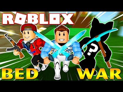 Roblox   NHÂN VẬT BÍ ẨN CÙNG KIA VÀ VAMY BẢO VỆ GIƯỜNG NGỦ - Bed Wars 2   KiA Phạm