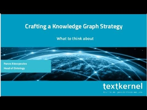 Crafting a Knowledge Graph Strategy - What to think about