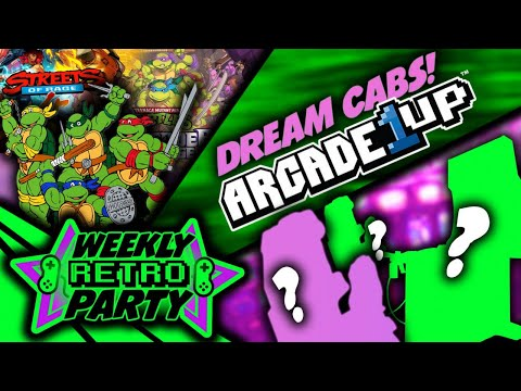 Weekly Retro Party: What should Arcade1up next lineup be? Retro is the new Modern. from Ur Average Gamer