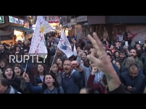 Turkey: Anti-Erdogan protests continue into their fourth night in Istanbul