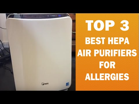 Best HEPA Air Purifier for Allergies with Washable Prefilter | Winix Freshome Filter Unboxing