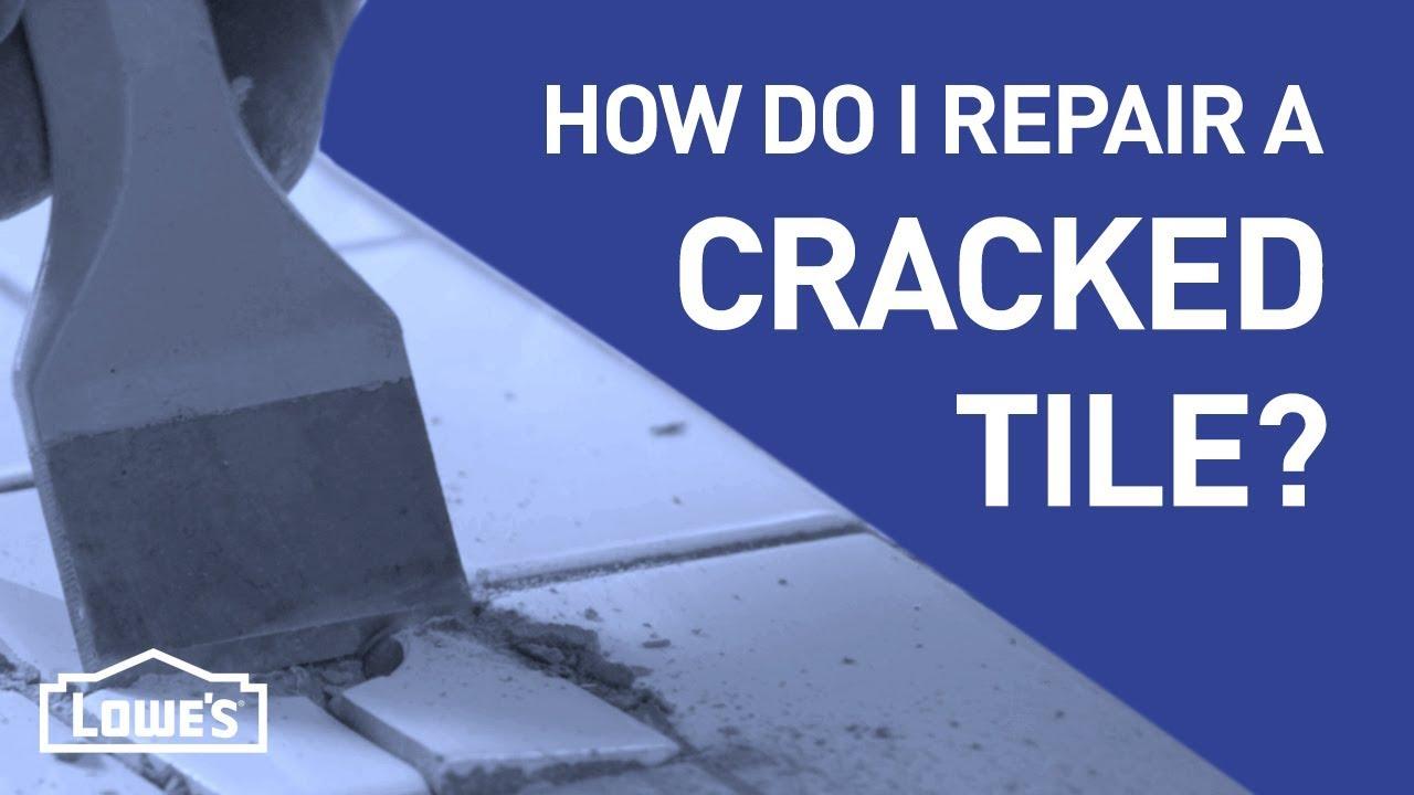 How Do I Fix a Cracked Tile? | DIY Basics - YouTube