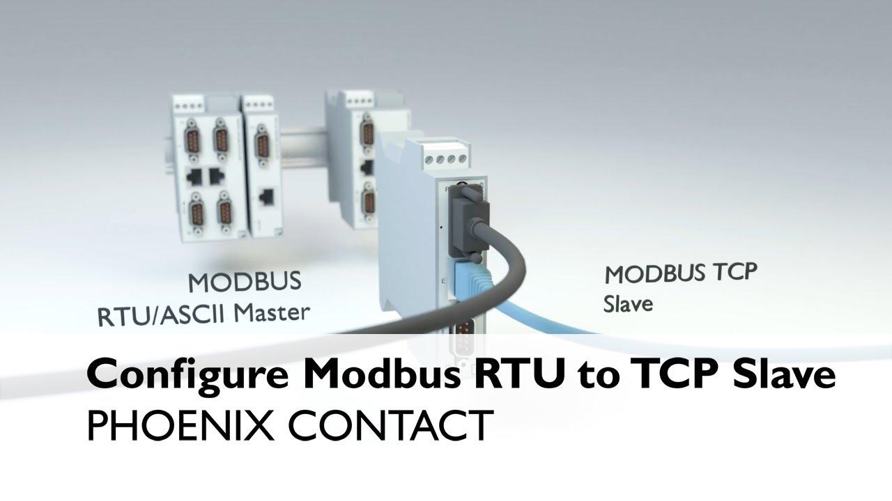 Configure Phoenix Contact's Gateways - Modbus RTU to Modbus TCP slave
