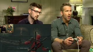 Ryan Reynolds Playing Deadpool (Videogame)