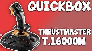 Thrustmaster - T 16000M FCS Flight Control System Space Sim