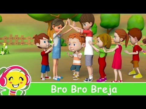 Cantec nou: Bro Bro Breja - Svenska Barnsnger | BarnMusikTV