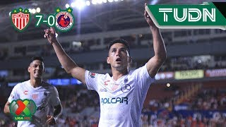 Golea Necaxa al Veracruz | Necaxa 7 - 0 Veracruz | Liga MX - J3 | TUDN México