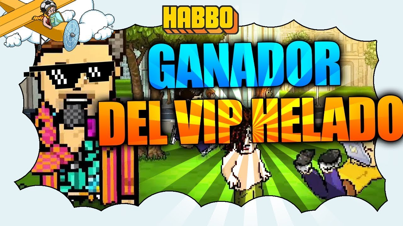 Habbo Sorteo Ganador Del Sofa Vip Helado Habbo Es Youtube