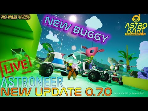 🚀ROVER UPDATE 0.7.0🚀 - NEW BUGGY IS HERE! SCIENCE EVERYTHING!  🛰 ASTRONEER