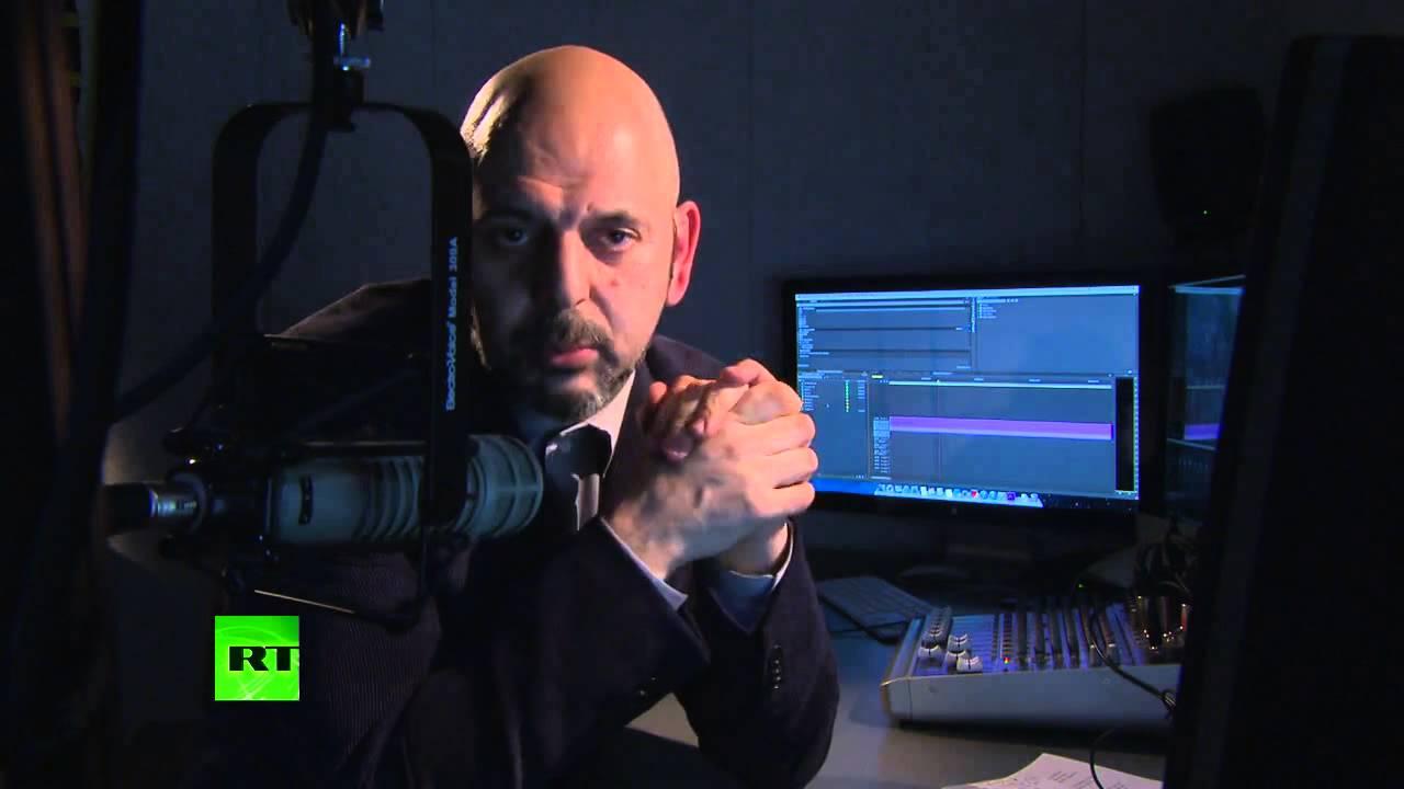 """Daniel Estulin a la audiencia de RT: """"El Gran Hermano nos lava el cerebro con la televisión&quo"""