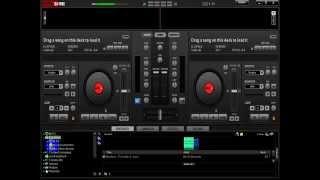 como quitarle la voz a una cancion en virtual dj facil